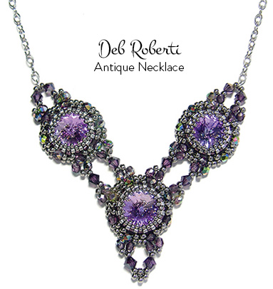 Antique Necklace at AroundTheBeadingTable.com