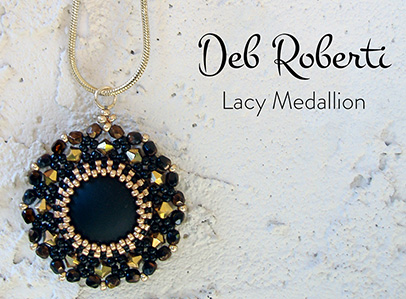 Lacy Medallion