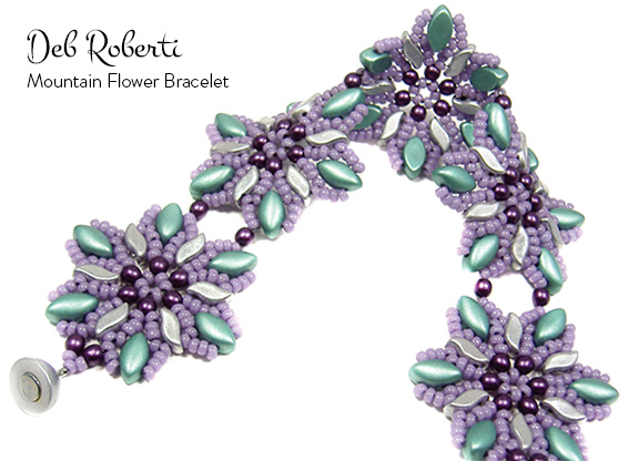 Mountain Flower Bracelet