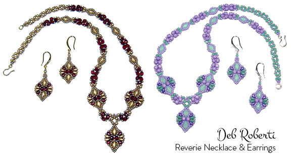 Reverie Necklace and Earrings