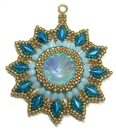 Starflower Pendant and Ornament