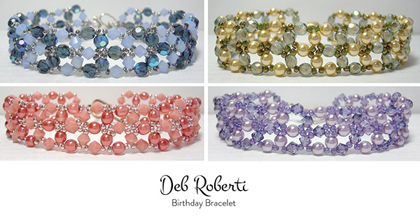 free Birthday Bracelet pattern