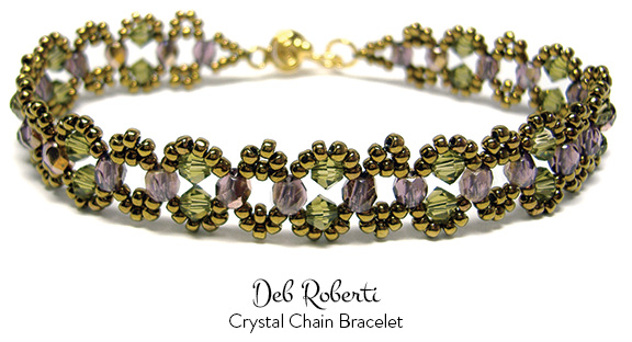 Crystal Chain Bracelet