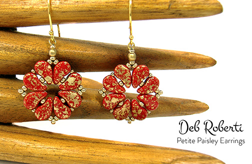 Petite Paisley Earrings